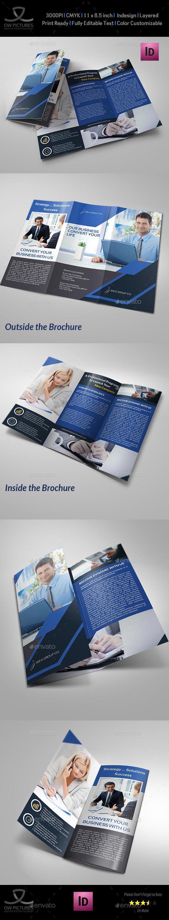 GraphicRiver Company Brochure Tri-Fold Brochure Vol.18 10481139