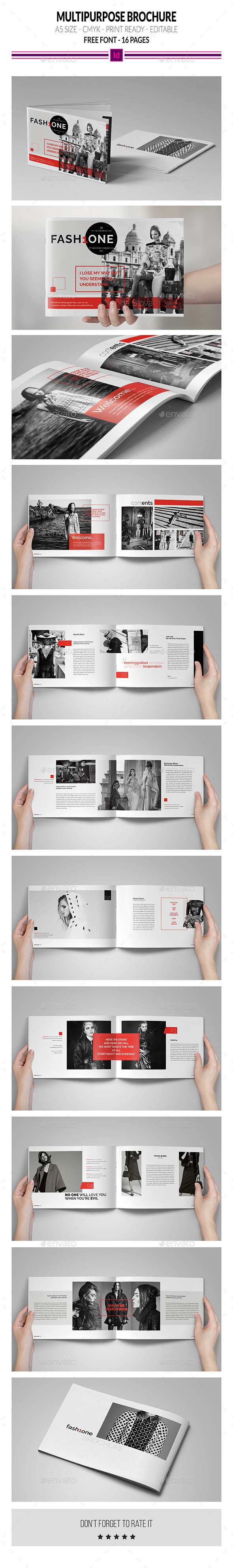 GraphicRiver Multipurpose Brochure Template 10481300