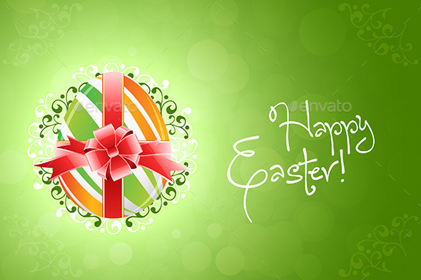 GraphicRiver Easter Egg Background 10481307