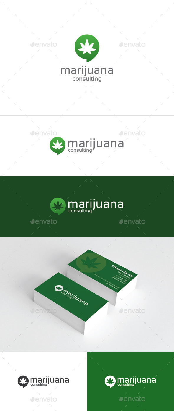 GraphicRiver Marijuana Consulting 10481355