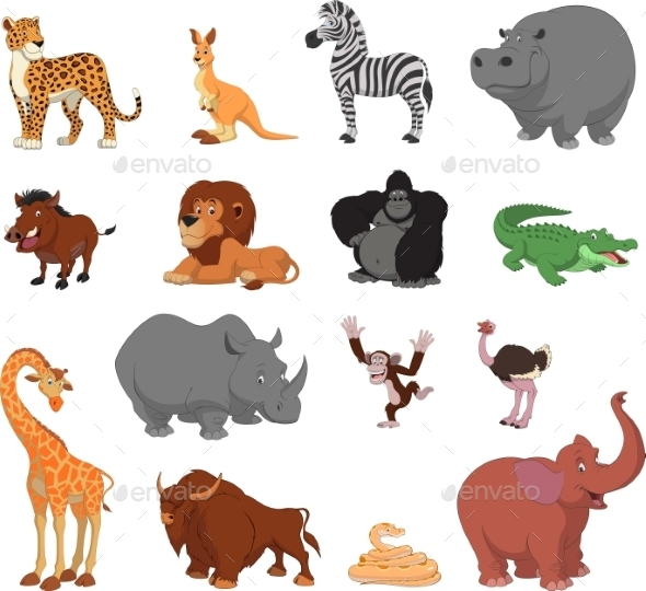 GraphicRiver Animals 10481471