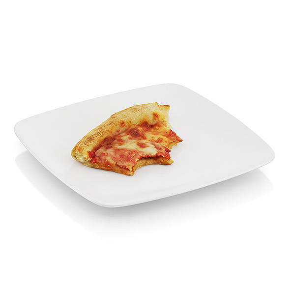 3DOcean Bitten pizza slice 10481842