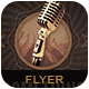 Something to Sing About Flyer/Poster - GraphicRiver Item for Sale