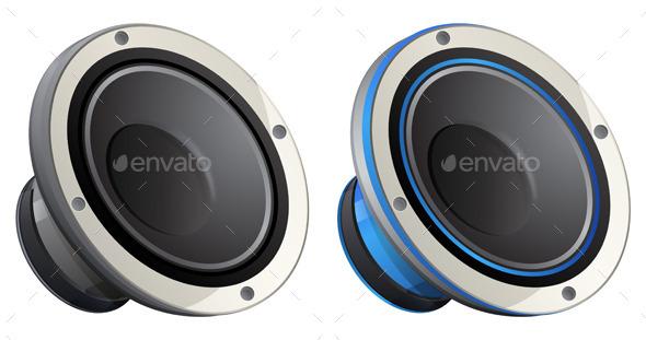 GraphicRiver Speaker Icon 10481977