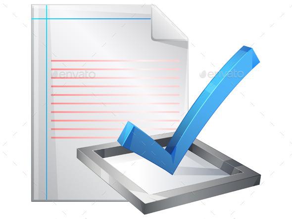 GraphicRiver Survey Icon 10482010
