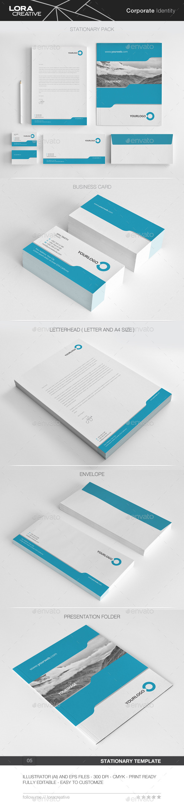 GraphicRiver Pure Concept Stationary Pack 05 10482412