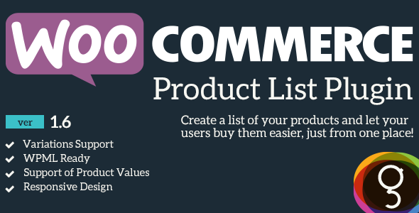 WooCommerce Product Listing - CodeCanyon Item for Sale