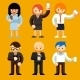 People Using Mobile Phones - GraphicRiver Item for Sale
