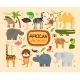African Animals - GraphicRiver Item for Sale