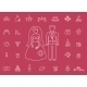 Marriage Icons - GraphicRiver Item for Sale