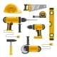 Construction Tools - GraphicRiver Item for Sale
