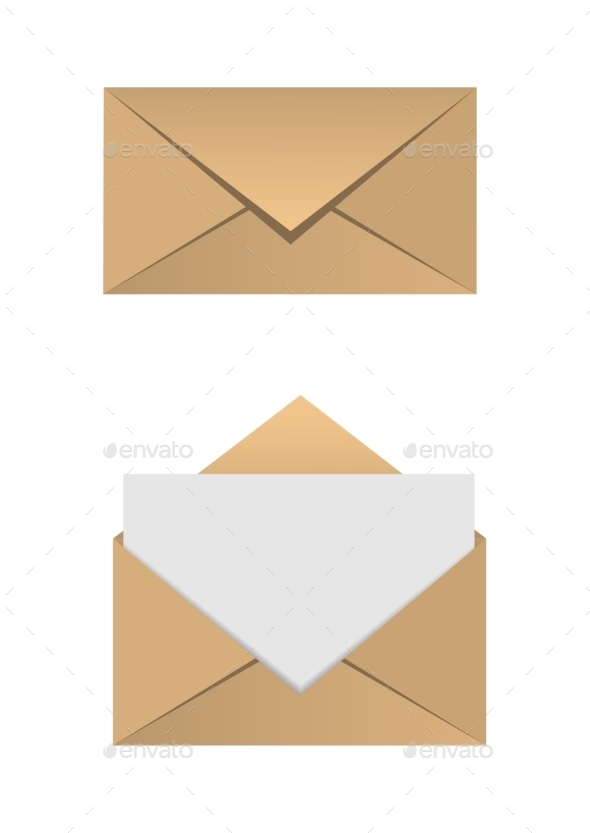 GraphicRiver Envelope Set 10482803