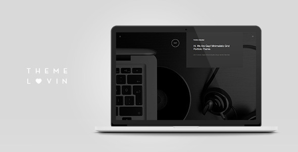 ThemeForest Gap Minimalistic Grid Portfolio Theme 10344621