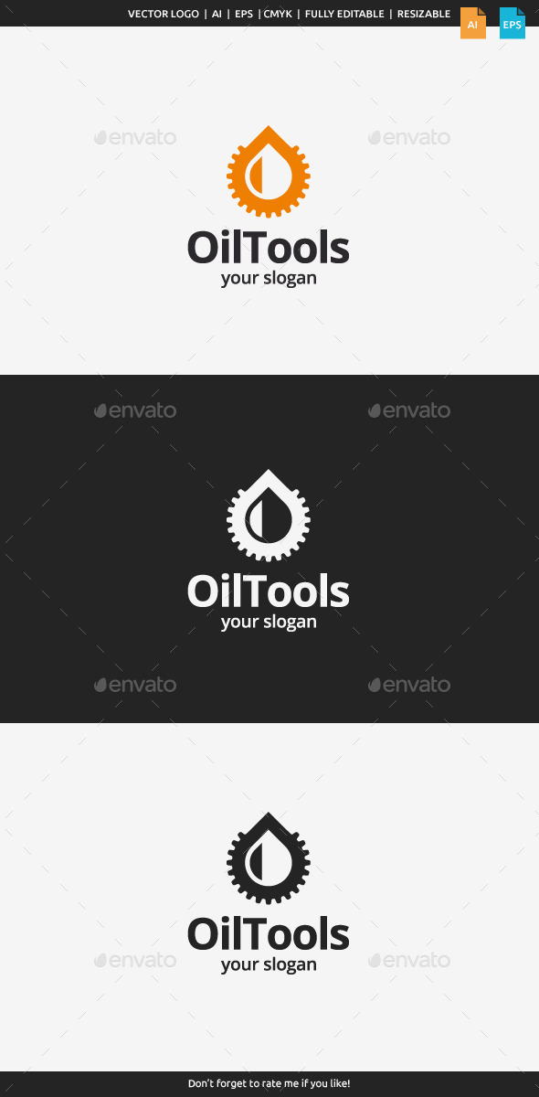 GraphicRiver Oil Tools Logo Template 10483222