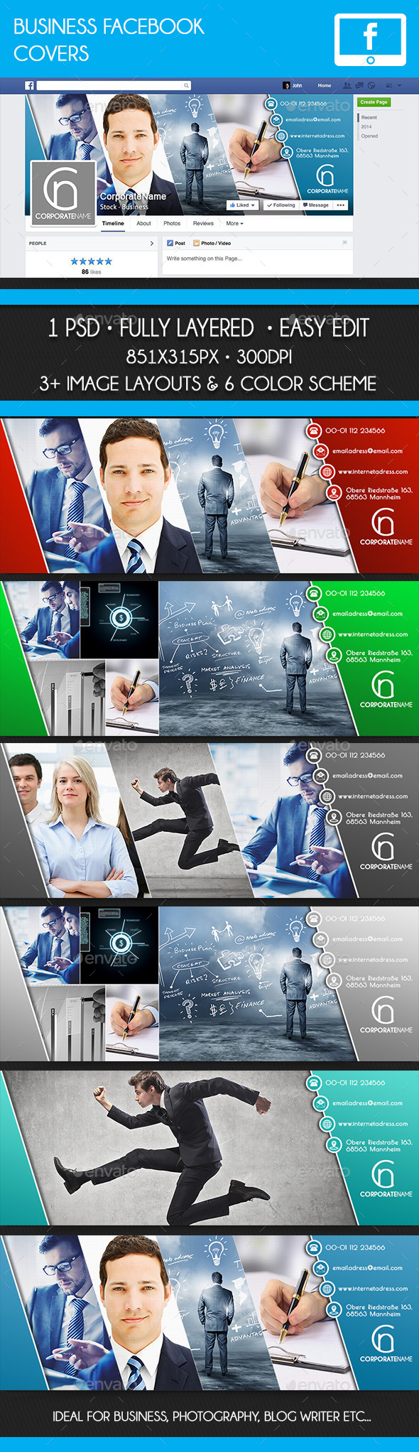 GraphicRiver Facebook Business Covers 10483428