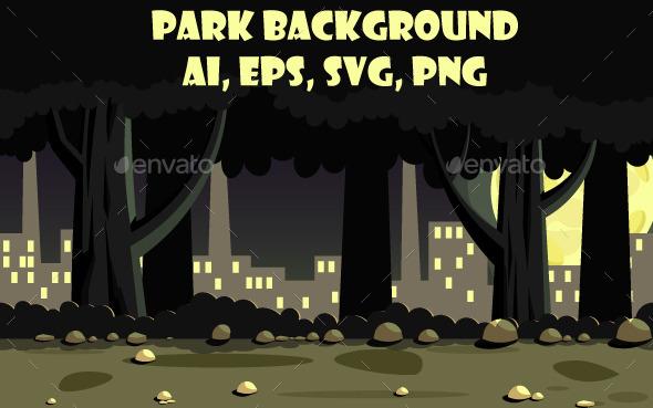 GraphicRiver Park BG 10483536