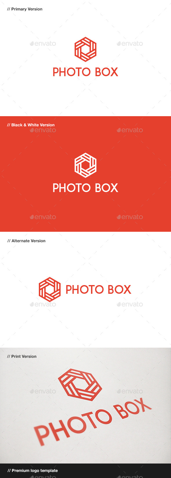 GraphicRiver Photo Box Logo 10483675