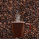 Mug of Coffee on Bean Background - PhotoDune Item for Sale