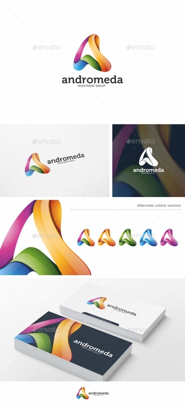 GraphicRiver Abstract Letter A Logo Template 10484218