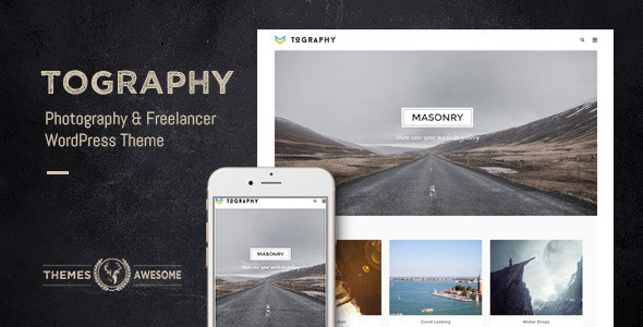 ThemeForest Tography WP Theme for Photographer & Freelancer 10429408