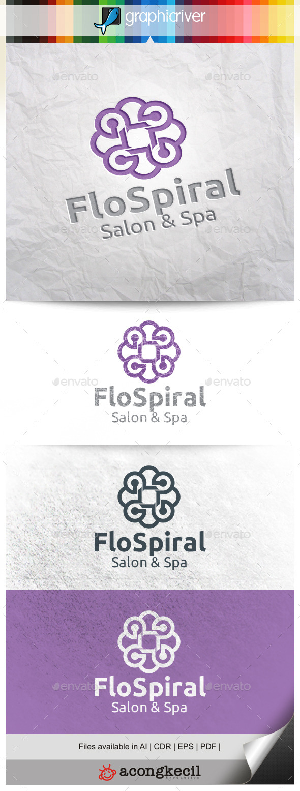 GraphicRiver Flower Spiral V.3 10484293