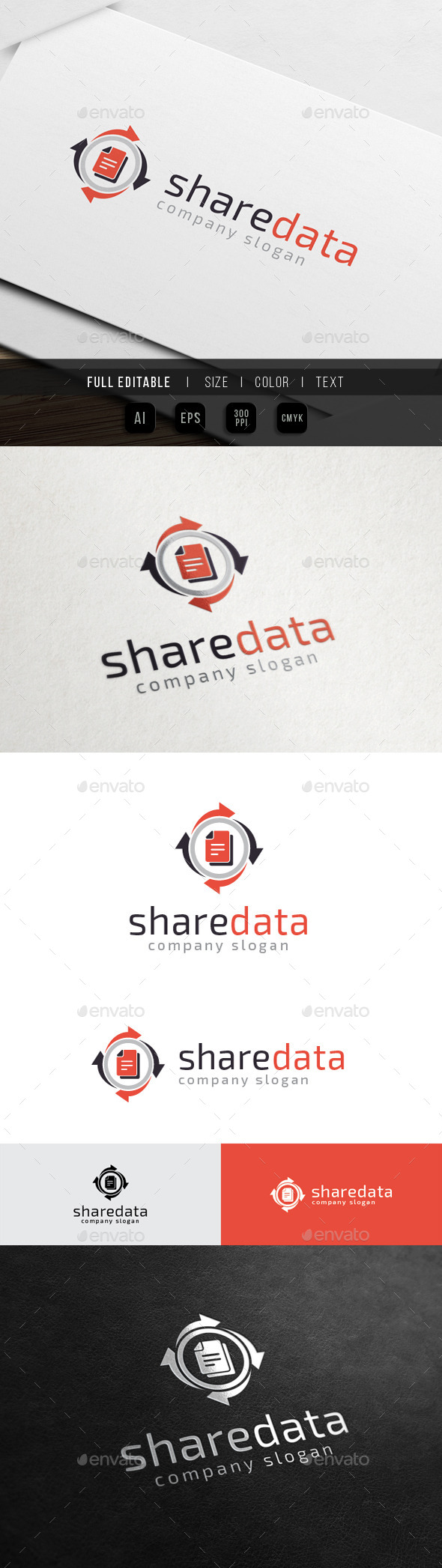 GraphicRiver Data Share Database Storage 10484317