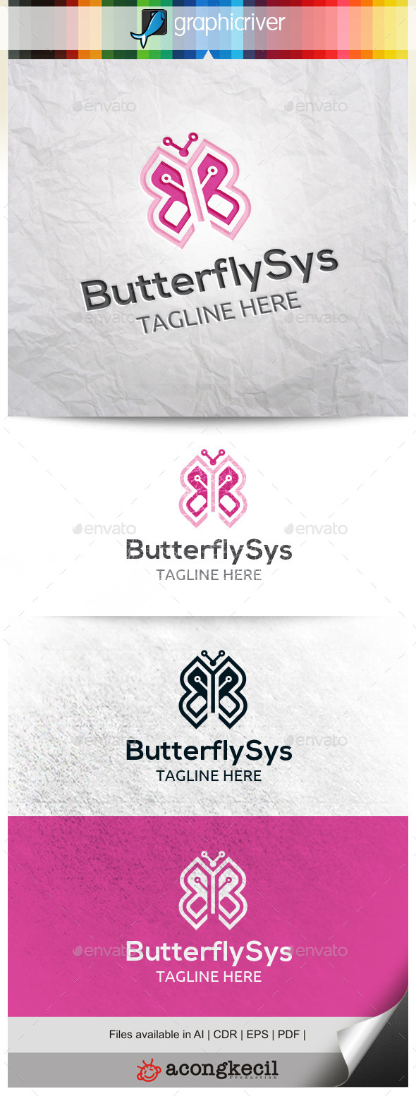 GraphicRiver Butterfly Sys 10484319