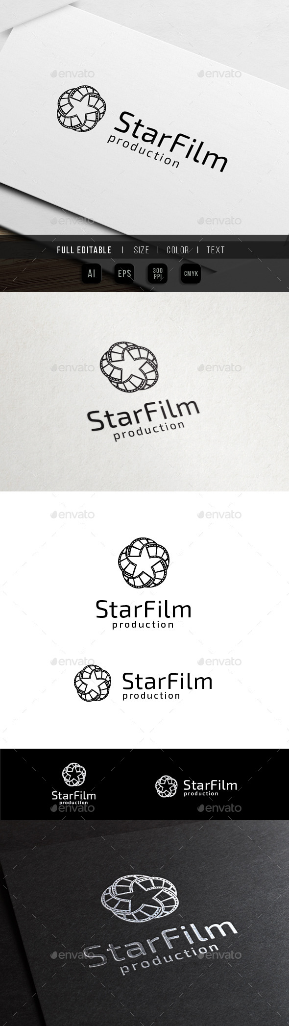 GraphicRiver Star Media Movie Film 10484328