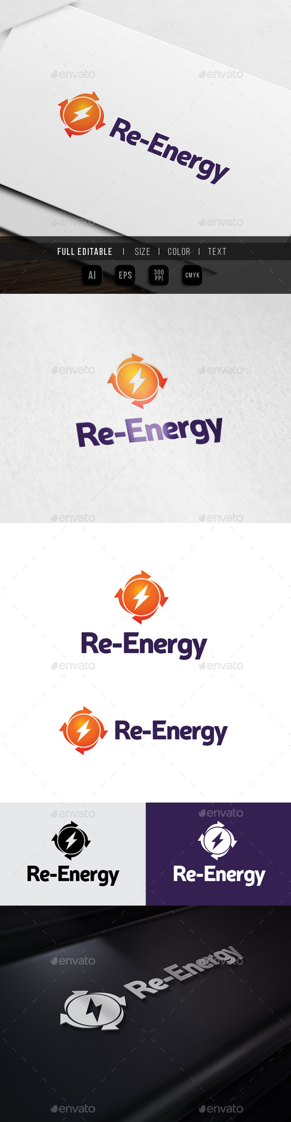 GraphicRiver Sharing Energy Recharge Power 10484333