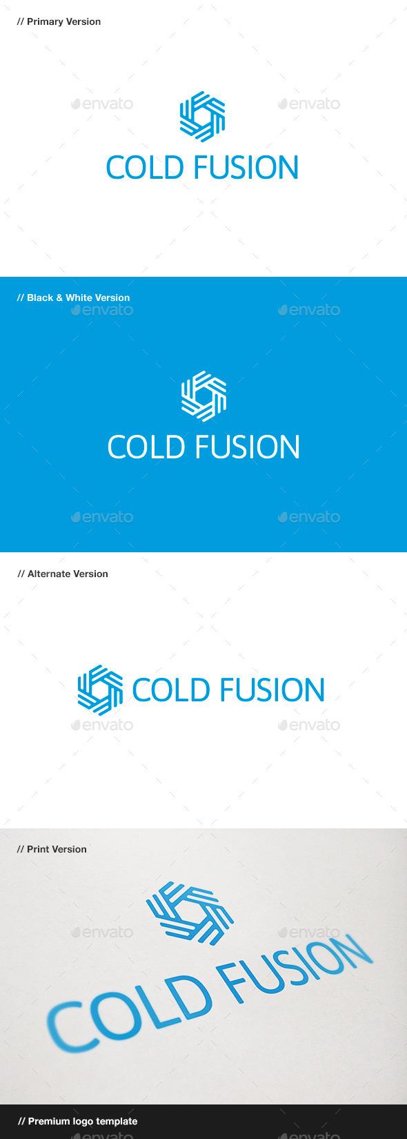 GraphicRiver Cold Fusion Symbol Logo 10484539