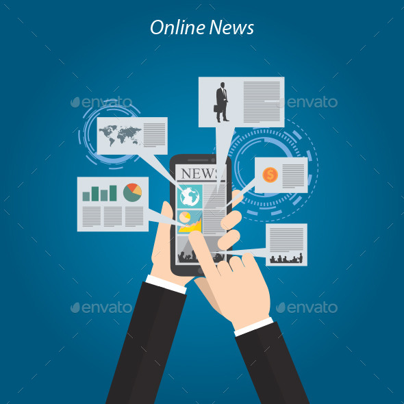 GraphicRiver Online News 10484544