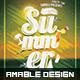 Vintage Summer Flyer - GraphicRiver Item for Sale