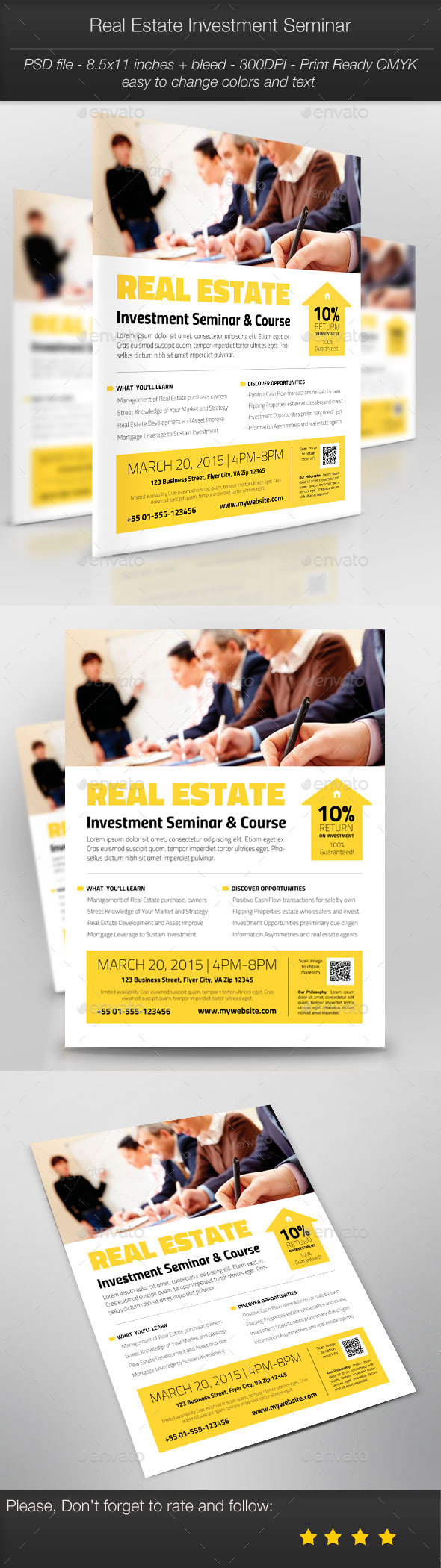 GraphicRiver Business Promotion Real Estate Investment Seminar 10484728