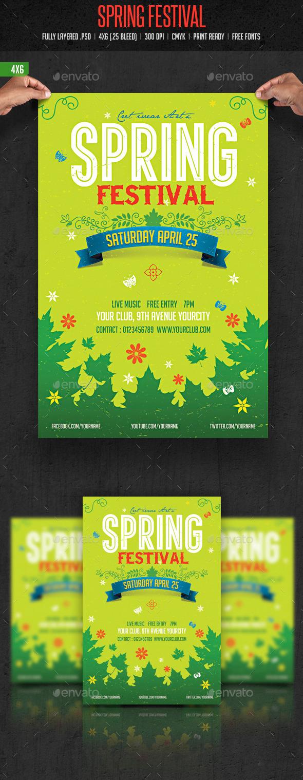 GraphicRiver Spring Festival 2 10484834