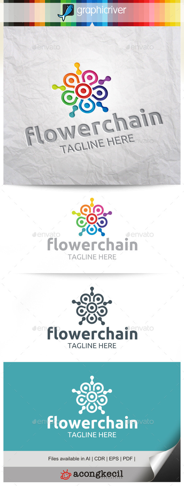 GraphicRiver Flower Chain 10484844