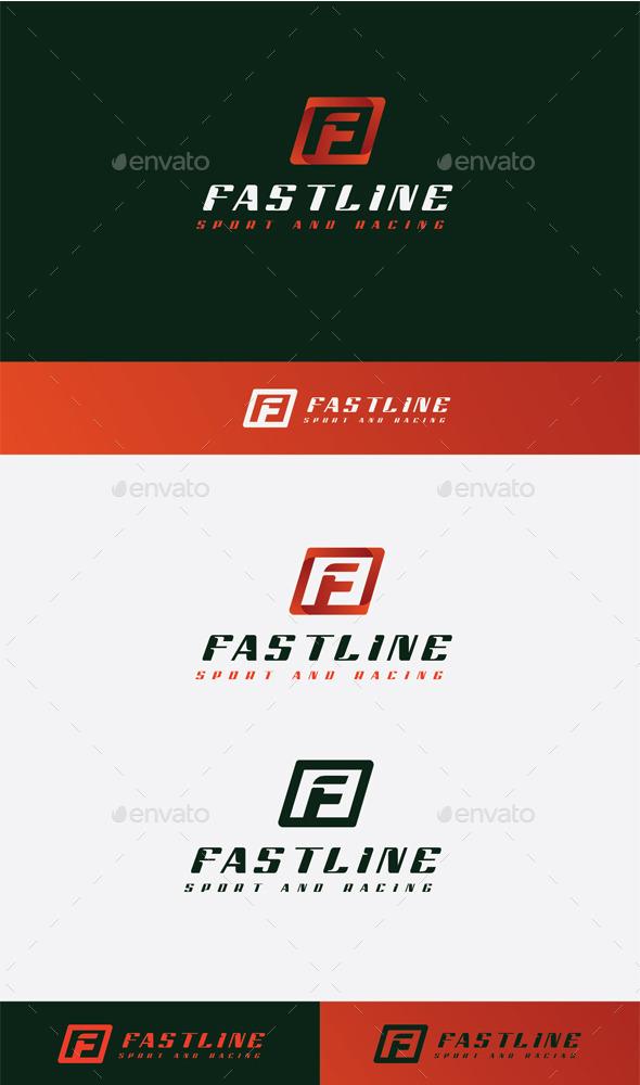 GraphicRiver Fast Line Logo 10484861