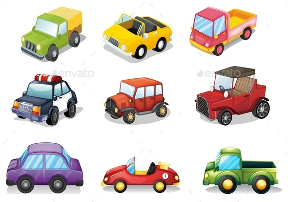 GraphicRiver Car Toys 10484864