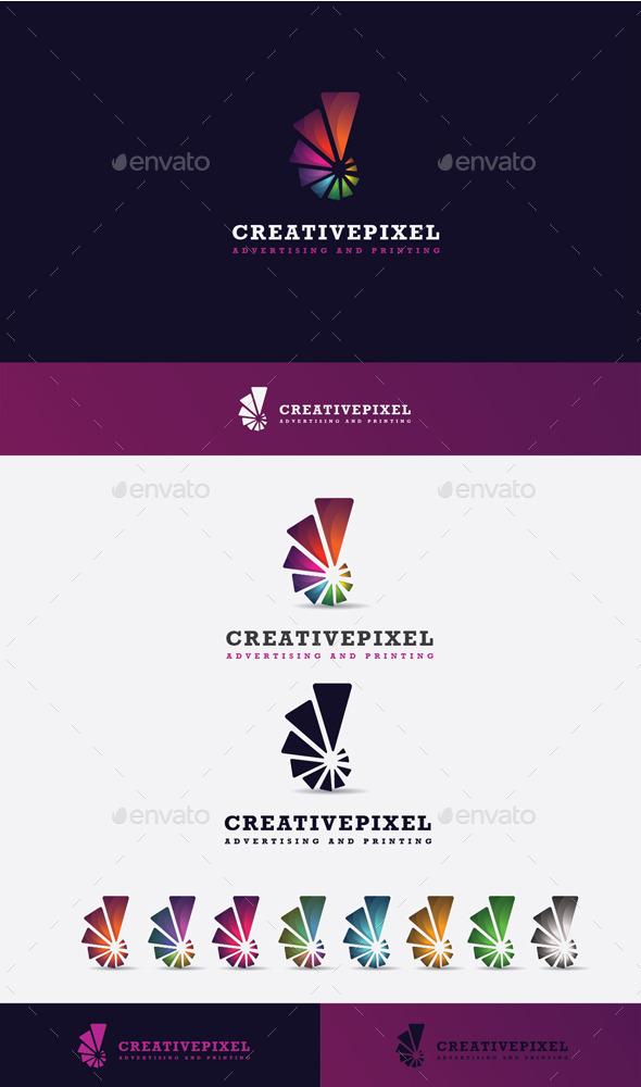 GraphicRiver Creative Pixel Logo 10484883