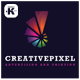 Creative Pixel Logo - GraphicRiver Item for Sale