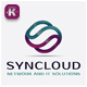 Sync Cloud Logo - GraphicRiver Item for Sale