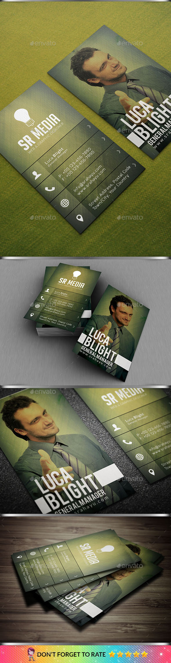 GraphicRiver Personal Business Card 10484900