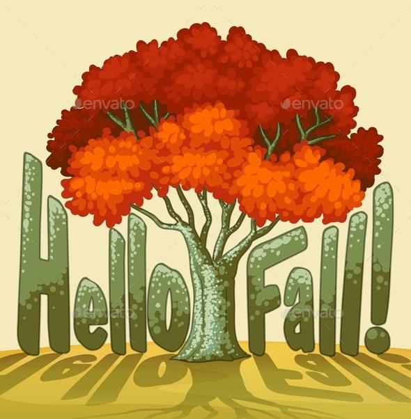 GraphicRiver Hello Fall 10484912