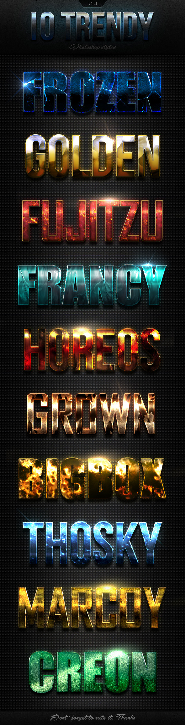 GraphicRiver 12 Trendy Photoshop Styles Vol.4 10484918
