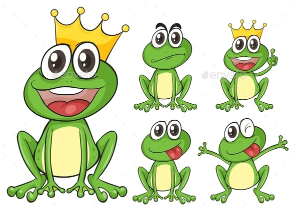 GraphicRiver Green Frogs 10485046