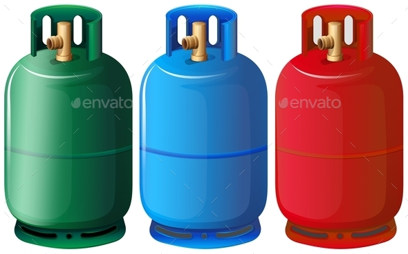 GraphicRiver Gas Tanks 10485117