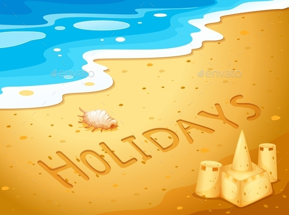 GraphicRiver Holiday at the Beach 10485151
