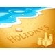 Holiday at the Beach - GraphicRiver Item for Sale