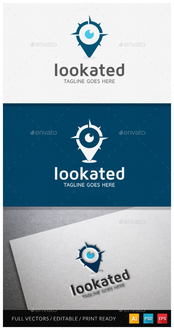 GraphicRiver Lookated Logo Template 10485230