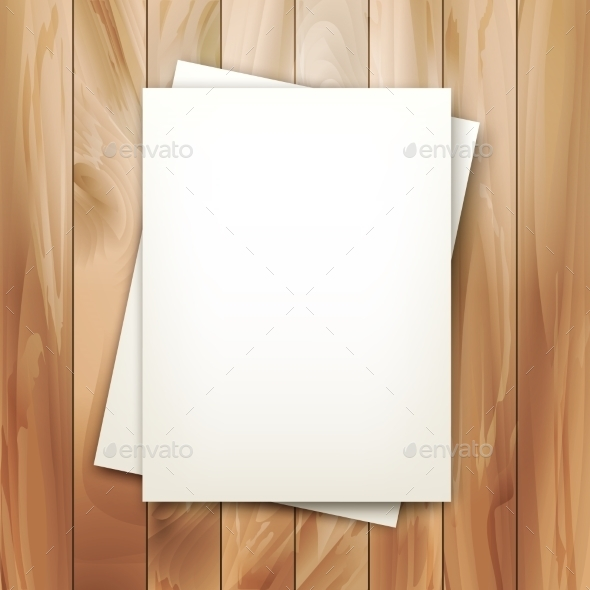 GraphicRiver Vector Note Sheets of Paper 10485587
