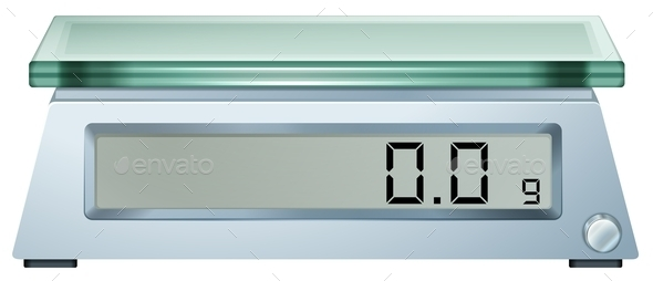 GraphicRiver Dgital Weighing Scale 10485601